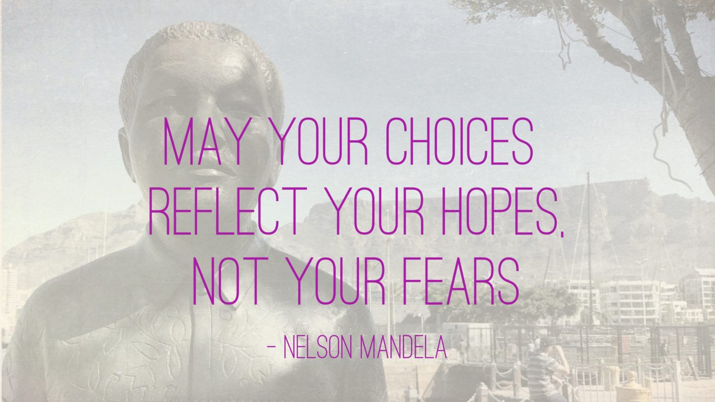 "Weer een week… #28: ""May your choices reflect your hopes, not your fears"""