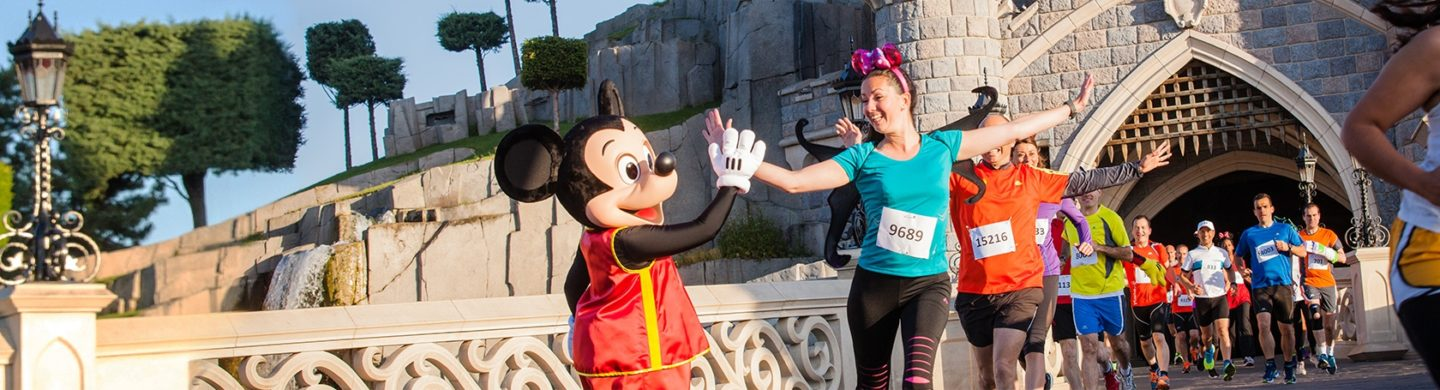 Run Disneyland Paris Half Marathon persfoto