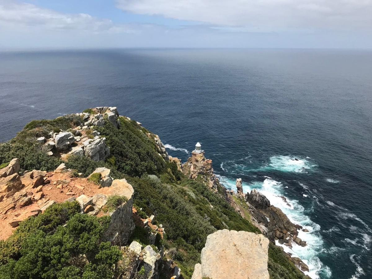 Cape Point, het meest Zuid-Westelijke puntje van Afrika